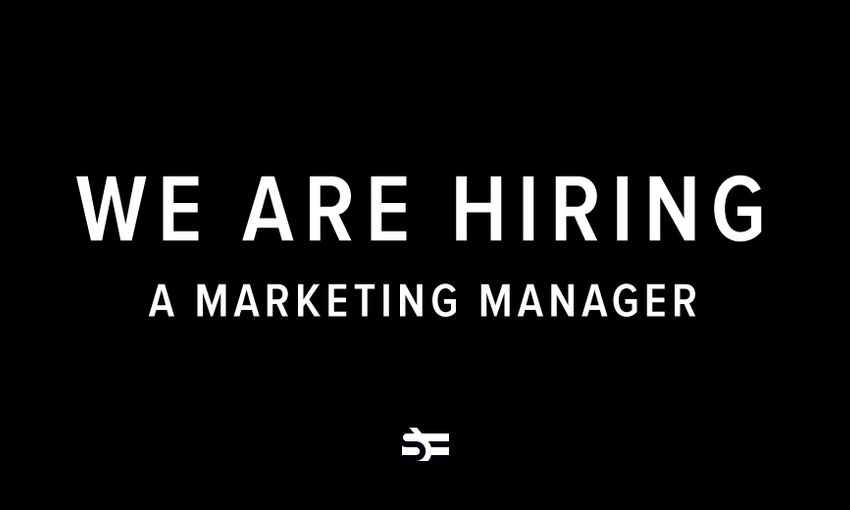 We Are Hiring a Marketing Manager
