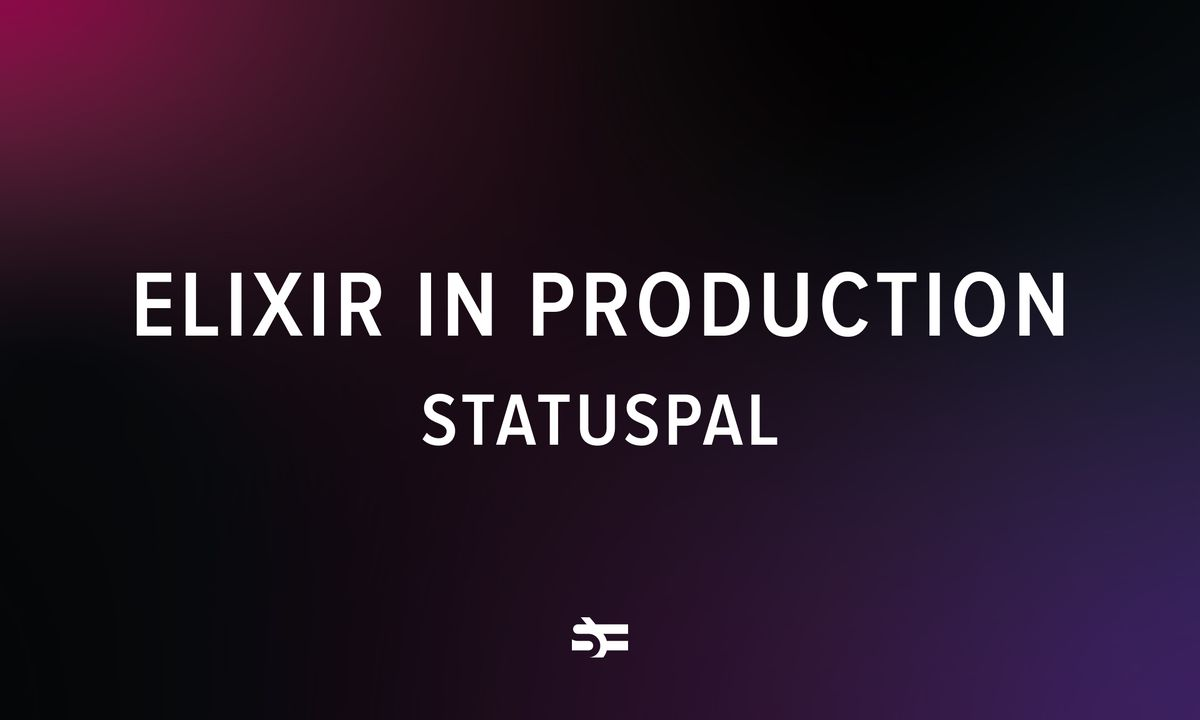 Elixir in Production is a series where we interview people that have used Elixir for significant projects: apps, services, startup MVPs. In this artic
