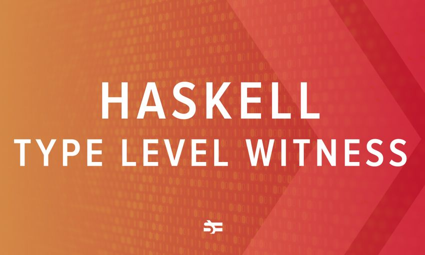 The concept of Haskell type witness