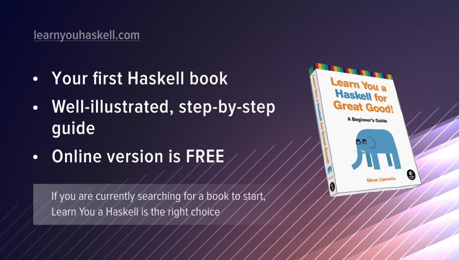 Learn You a Haskell