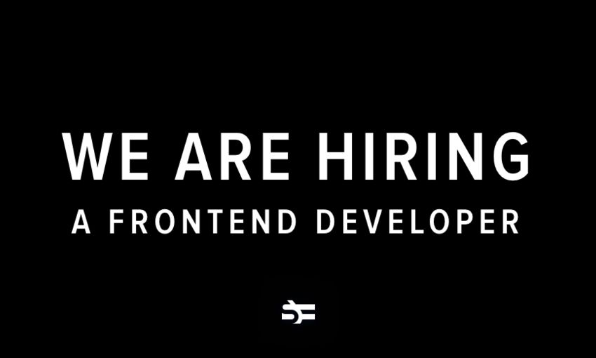 We Are Hiring a Frontend Developer