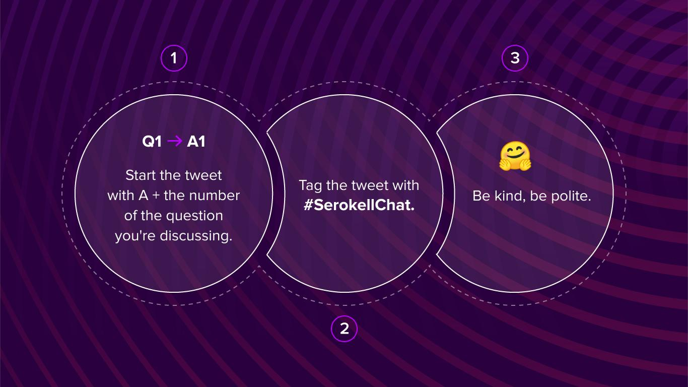 rules for Twitter chat image