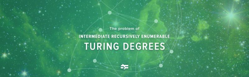 The Problem of Intermediate Recursively Enumerable Turing Degrees