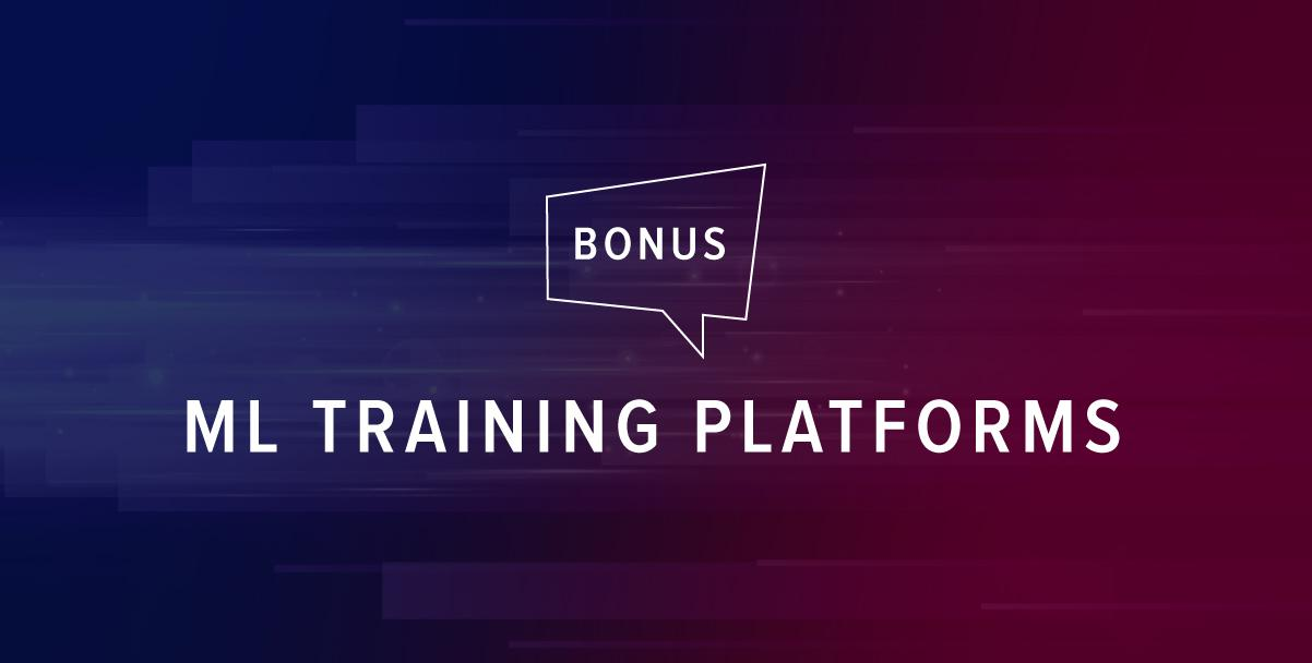 machine learning training platforms
