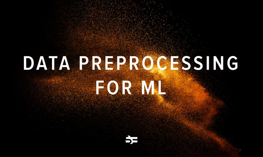 Data preprocessing for machine learning