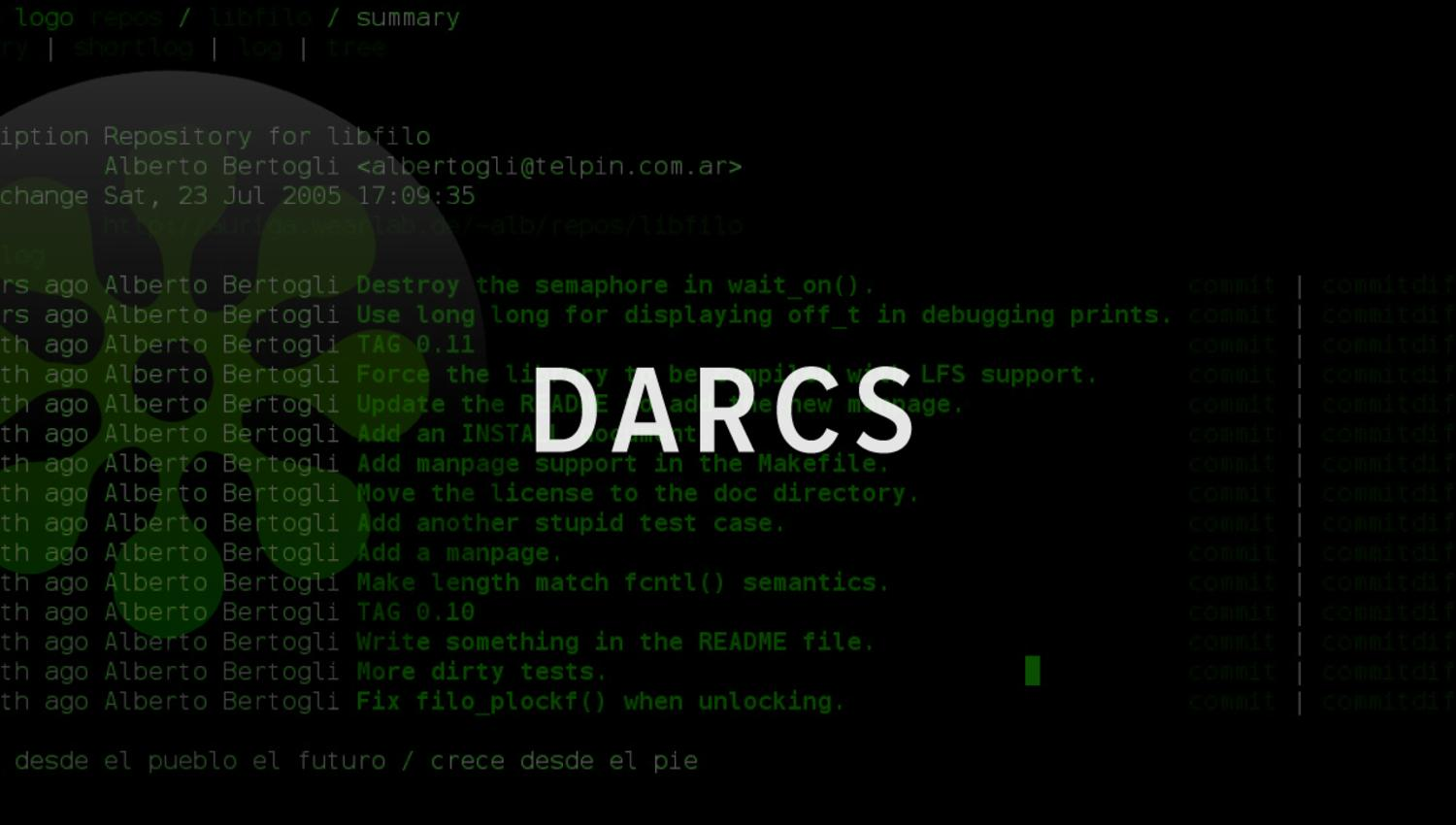 darcs version control haskell